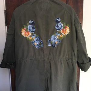 Embroidered Utility Jacket